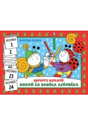 Bogyó és Babóca ajándéka - Adventi kifestő - Bagolydoktor beteg