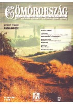 Gömörország 2013 Ősz