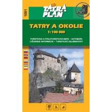 1001 Tatry a okolie 1:100 000